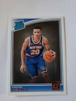 KEVIN KNOX 2018/19 Donruss RC * RATED ROOKIE * #190 KNICKS Rookie Card