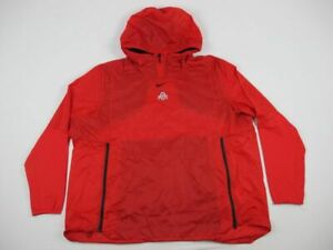Ohio State Buckeyes Nike Pullover Men's Red Nylon New 3X Large
