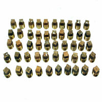 "(Lot of 50) 1/2"" NPT Male Solid Brass Square Head Threaded Pipe Fittings"