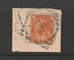 Canada ALMONTE ON Squared Circle Queen Victoria 8c Leaf 1898