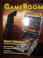 GameRoom Magazine - Feb 2009 Vol.21 No.2 Free Shipping!