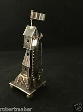 Antique Silver Miniature Lighthouse