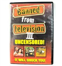Banned from Television 3 Uncensored DVD Movie Original Release