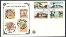 Südwestafrika - FDC Historische Gebäude 1977 Mi. 436-439