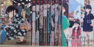 Komi Can't Communicate 10 Vol. 3-5,7-13 English Manga Graphic Novels New Lot Viz