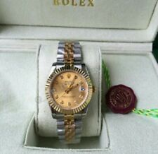 Date Just Two Tone Swiss Made Automatic Watch