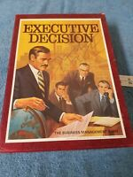 Vintage Never Played NOB 1971 Executive Decision 3M Bookshelf Game Business