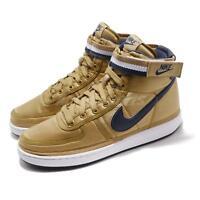 Nike Vandal High Supreme QS Metallic Gold Navy Mens Casual Shoes AH8652-700