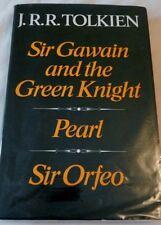 J.R.R. Tolkien, Sir Gawain, Pearl and Sir Orfeo, 1975 1st/1st