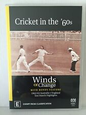 CRICKET IN THE 60's ~ WINDS OF CHANGE ~ 2 DISC PAL DVD SET ~ AS NEW ~ 278 MINS