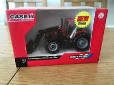 BRITAINS CASE IH MAXXUM 110 TRACTOR AND LOADER 1:32 SCALE (42688) - NEW