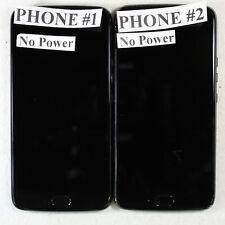 Lot of 2 Motorola Moto X4 Black Asis For Parts/Repair MotoX4-Lot2-B