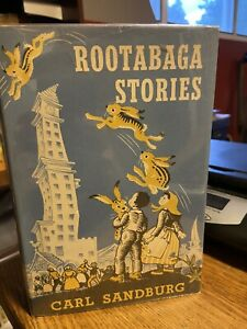 Carl Sandburg ROOTABAGA STORIES 1961 w/DJ Maud and Miska Petersham