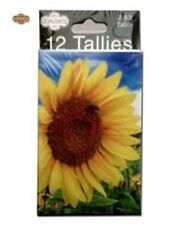 Congress Sunflower Bridge Tallies  For Keeping Score Playing Cards Bicycle