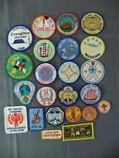 23 GIRL GUIDES UK  GIRL SCOUT  PATCHES    Vintage & used    WAGGGS