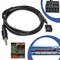 KFZ Auto AUX Line In Adapter Kabel 10 Pol Stecker CD Radio Buchse für BMW E46