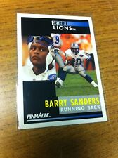SCORE PINNACLE FOOTBALL 1991 BARRY SANDERS CARD 250 DETROIT LIONS