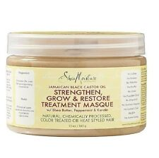 Shea Moisture Jamaican Black Castor Oil Strengthen & Restore Treatment Masque,