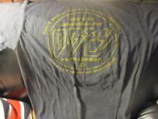 Soft Grey OBEY PROPAGANDA Stiff Records Logo Spoof T Shirt Medium Shepard Fairey