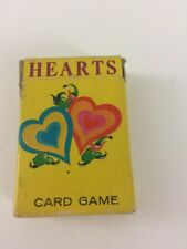 Vintage Hearts Card Game by Whitman   J