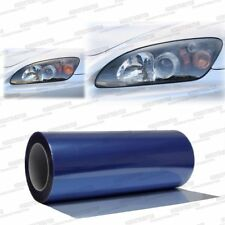 "Xenon Blue Headlight Taillight Fog Light Tint Vinyl Film Wrap 24"" x 12"" Pontiac"