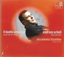 ANDREAS SCHOLL IL DUELLO AMOROSO ITALIAN CANTATAS OTTAVIO DANTONE