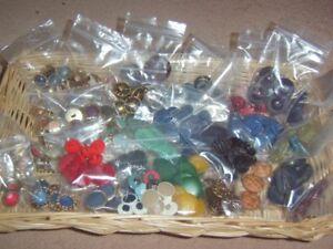 Mixed Lots Bundles Assorted Sets Vintage Retro 80s 90s etc Buttons Menu Choice