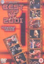 WWE WWF BEST OF WWF 2001 VIEWERS CHOICE RARE FREE POSTAGE