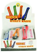 BUY 1 GET 1 FREE JOKE SHOCKING UTILITY BOX CUTTER  pracitical jokes SHOCK GAG