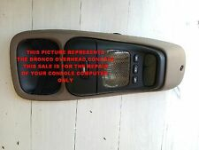 1992 1996 EDDIE BAUER FORD BRONCO OVERHEAD CONSOLE REPAIR SERVICE YOU SEND YOURS