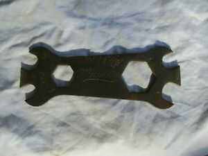 """Vintage Maytag Script Antique Hit and Miss Engine Wrench Multi Tool 5-3/8"""""""