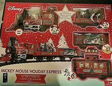 Disney Train Mickey Mouse Holiday Express 36 Pc Collectors Edition FREE SHIPPING