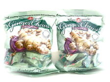 Trader Joe's The Ginger People Original Ginger Chews, 2 Bags (5 Ounces Each)