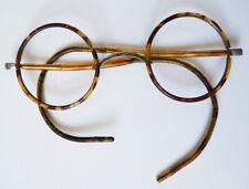 Bésicles lunettes rondes écaille anciennes vers 1920  lorgnon