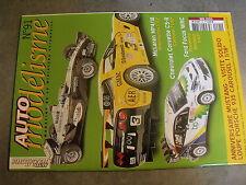 $$m Revue Auto modélisme N°91 McLaren MP4/18  Corvette C5-R  Ford Focus WRC