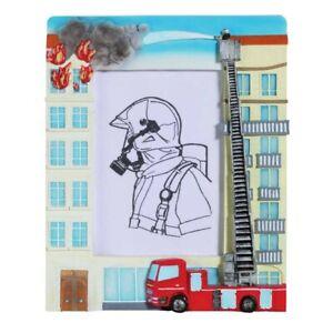 Feuerwehr Bilderrahmen Häuserbrand