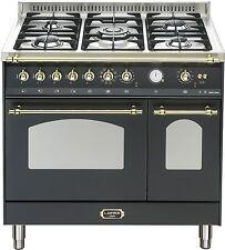 Lofra Dolcevita Range Cooker Doppelbackofen 90 cm, Drehspieß, 5-Flammen-Gaskochf