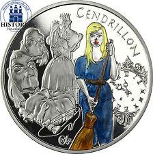 France 1,5 euro argent 2002 PP Contes série: Cendrillon en couleur