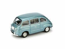 FIAT 600 MULTIPLA RAI 1960 1:43 MODELLINO AUTO FURGONE BRUMM SCALA