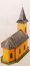 Wallendorf Chapel card model kit Scale 1/87 Railway(HO)3D-puzzles.