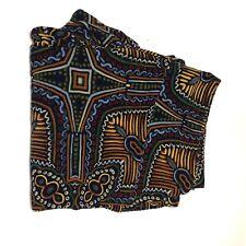 LuLaRoe Leggings TC Tall Curvy African Inspired Print EUC