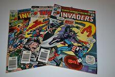 Marvel Comics Bronze Age The Invaders Comic Lot
