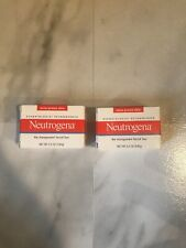 Neutrogena Transparent Facial Bar- Acne-Prone Skin Formula Soap 3.5oz Lot Of 2