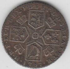 Coin 1787 England 1/- King George 3rd silver proclamation coin in Australia