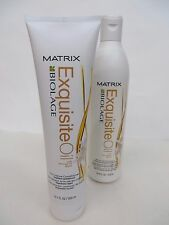 MATRIX BIOLAGE EXQUISITE OIL SHAMPOO & CONDITIONER