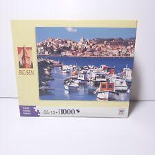 MB Hasbro Big Ben 1000 Pieces Riviera di Ponente Italy Puzzle