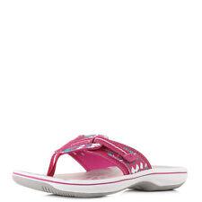 Clarks Textile Flip Flops for Women
