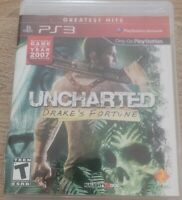 Uncharted: Drake's Fortune Sony PlayStation 3 PS3 Tested Greatest Hits Works