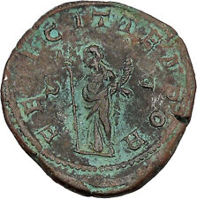GORDIAN III 241AD Sestertius Big Rare  Ancient Rare Roman Coin Good luck  i42148