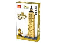 Big Ben Of London Building Blocks Bricks - Wange